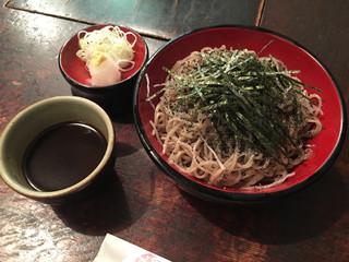 寺方蕎麦 長浦 - 妙興寺そば(1200円)