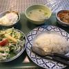 カレーの店 ピー - 料理写真:ランチセット ガパオ+冬瓜のレッドカリー