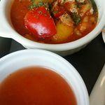 ユーロスターカフェ - トマト煮&スープ