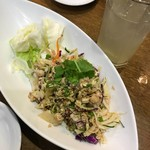 ノング インレイ - お肉のスパイシーサラダ