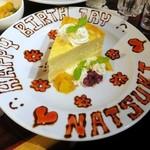 フーターズ - Happy Birthday NATSUKI