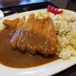 デリシャス - 料理写真:ポークカツピラフ700円