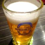 越後の蔵 和心づくし あさひ山 - ◆生ビール(風味爽快ニシテ)