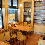 ミサ ロッソ - 奧のテーブル席