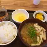 Tonkatsuginzabairin - 豚汁定食