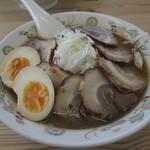 ラーメンのこじま - ねぎチャーシュー+味玉