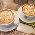 Turret Coffee - ハワイアンソルトキャラメルラテ(490円)⁺豆乳に変更(50円)