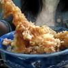 きそば五郎 - 料理写真:そびえ立つ海老、天丼。