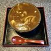 盧山 - 料理写真:夕張風カレー蕎麦です。