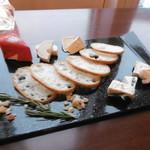 バイキング&カクテルラウンジ トップ オブ ミヤコ - チーズ5種盛