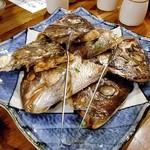 魚沼釜蔵 - コース料理(真鯛の兜 山椒焼き)