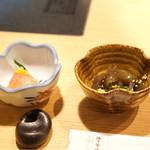 博多華味鳥 - 小鉢二品