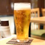 博多華味鳥 - 生ビール