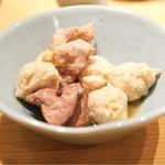 博多華味鳥 - つくね、切身、肝