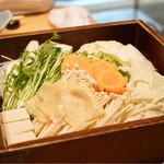 博多華味鳥 - 野菜盛合せ