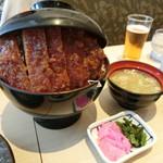 明治亭 - 「ソースかつ丼」1,340円