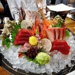 魚沼釜蔵 - コース料理(刺身4種盛り合わせ)