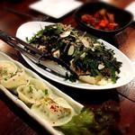 コサリ ニューコリアン テーブル トウキョウ - 豆腐サラダ(ピリ辛)