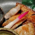 みやこわすれ - 甘豚 笹川流れの塩焼き