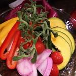 68759042 - 直産野菜のバーニャカウダ フルサイズ