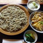 玄びし - ざると親子丼¥1000