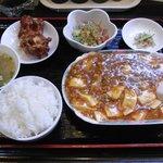 中華料理 千龍 御薗橋店 - 千龍 マーボ豆腐セット