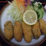 6876826 - 2011年冬の牡蠣フライ定食アップ!