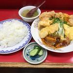 若水 - 若水定食1030円(税込)