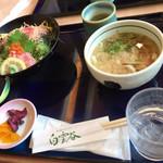 レストラン白雲谷 - 海鮮丼セット