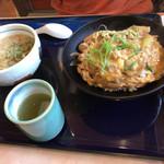 レストラン白雲谷 - 親子丼セット