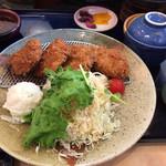 レストラン白雲谷 - ヒレカツセット