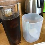 68762576 - セットのアイスコーヒー