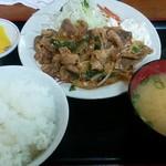 68763189 - スタミナ定食850円