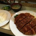 ブルドック - メンチカツ定食