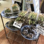 68763407 - 店前にてお野菜販売。