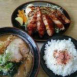 サッポロ麒麟ラーメン - キリンセット(税込み850円)