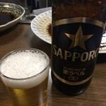 笹新 - 瓶ビール