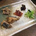 笹新 - 前菜5点盛り合わせ