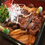68766750 - 飛騨牛ステーキ丼