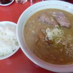 68767222 - '17/06/18 味噌拉麺(800円)+半ライス(110円)