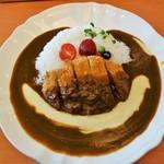 カレーの木 - トローリチーズのカツカレー(940円)
