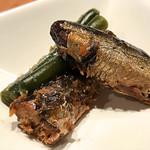 小田原おでん本店 - イワシかな?美味しかった。