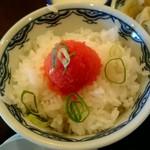 博多麺房 赤のれん - 明太子ご飯