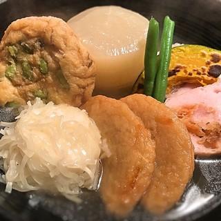 小田原おでん本店 - 料理写真:特選おでん