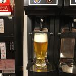 伊東園ホテル - 泡加減ばっちりの生ビールサーバー