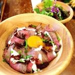 Restaurant & Bar Mashu - ローストビーフ丼 850円