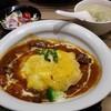 牛たん炭焼 利久  - 料理写真:牛たんオムライス全体