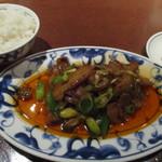 陳麻婆豆腐 - ホイコーローセット