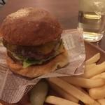 Jack37Burger - バリネスチーズバーガー