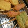 毛利や 串よし - 料理写真:串カツ三種